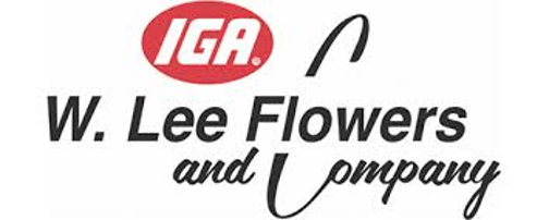 W Lee Flowers logo